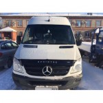 Дефлектор капота Mercedes-Benz Sprinter с 2006-2013 г.в. (Вариант Б)
